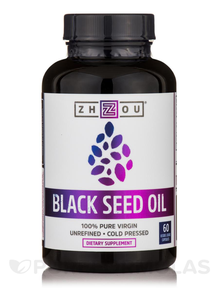 Black Seed Oil - 60 Veggie Capsules