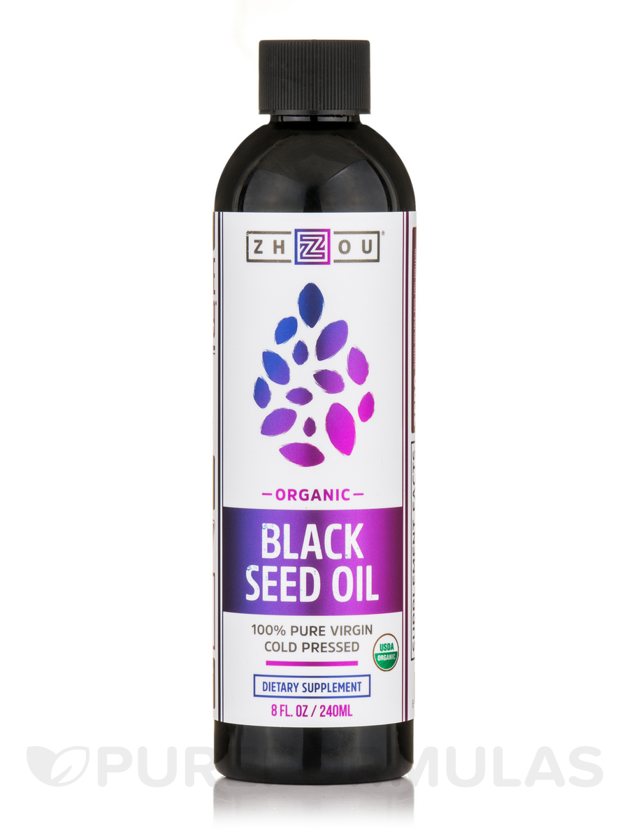 Black Seed Oil Liquid - 8 fl. oz (240 ml)