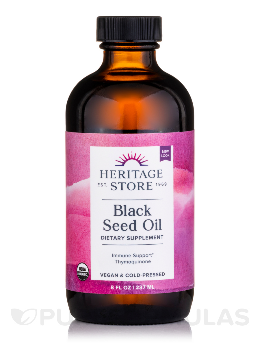Black Seed Oil Organic, Natural - 8 fl. oz (240 ml)