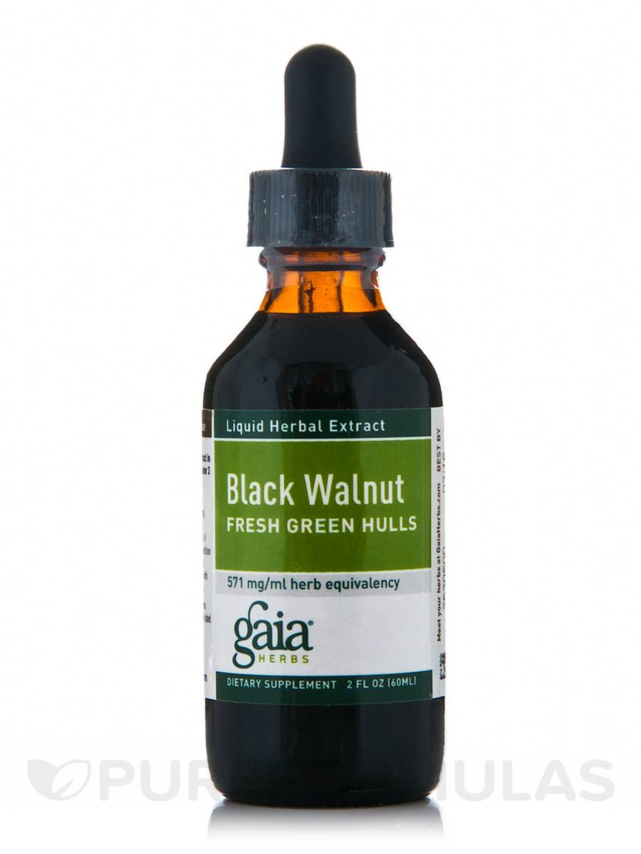 Black Walnut Hulls - 2 fl. oz (60 ml)