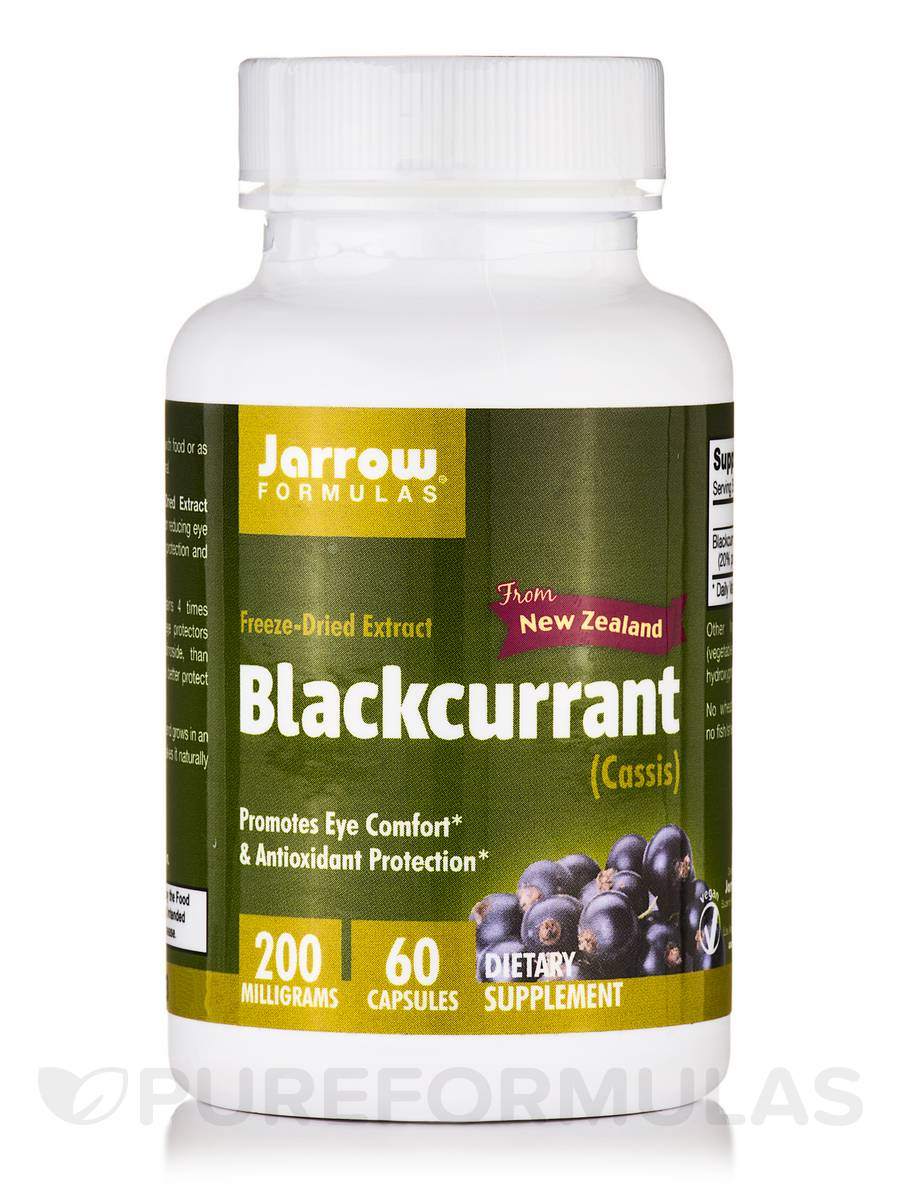 Blackcurrant Freeze-Dried Extract - 60 Capsules