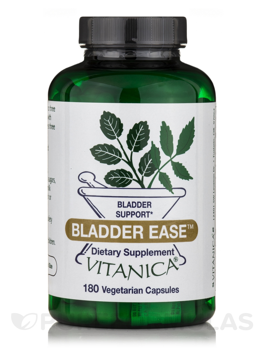 Bladder Ease (Professional Formula) - 180 Vegetarian Capsules