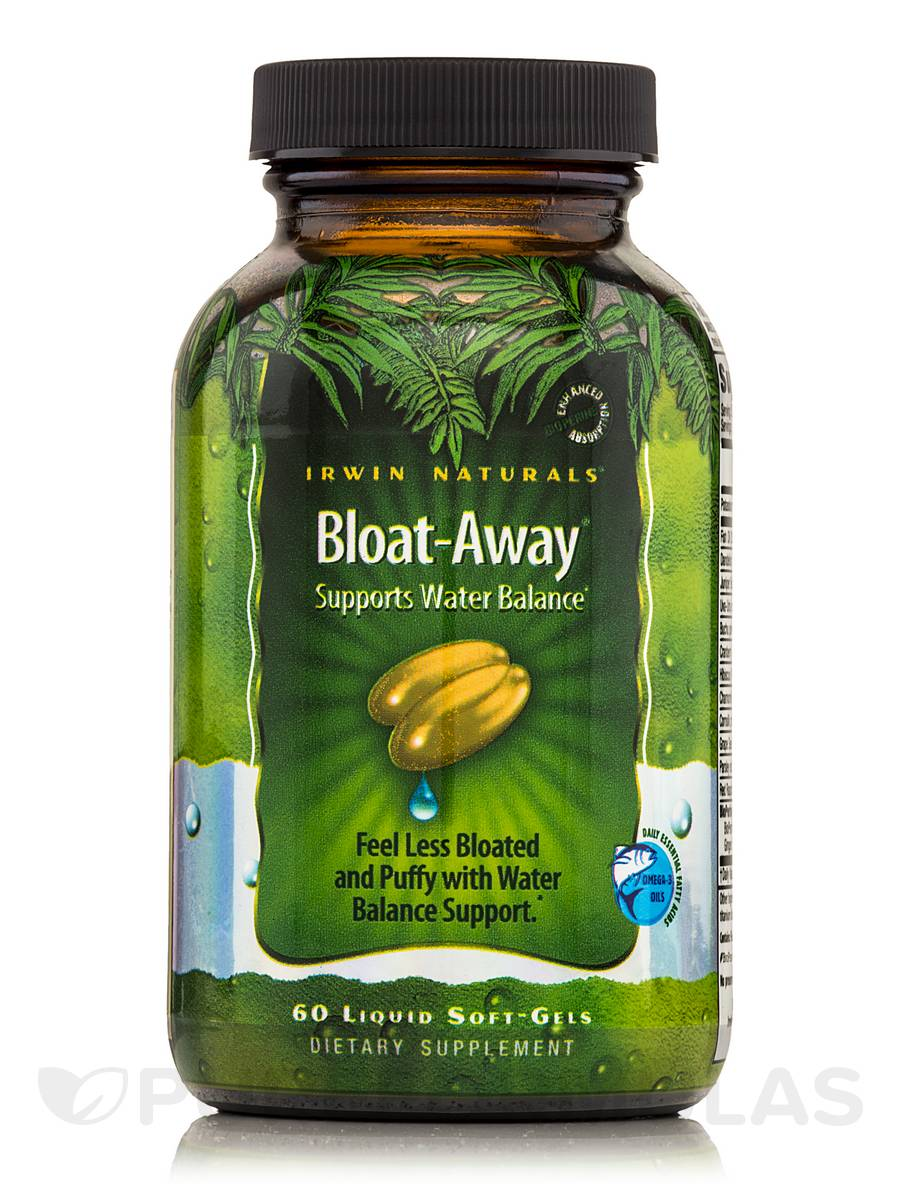 Bloat-Away (Supports Water Balance) - 60 Liquid Soft-Gels