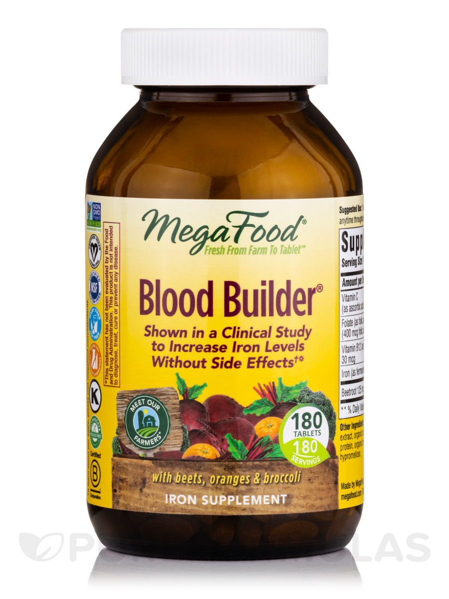 Blood Builder® - 180 Tablets