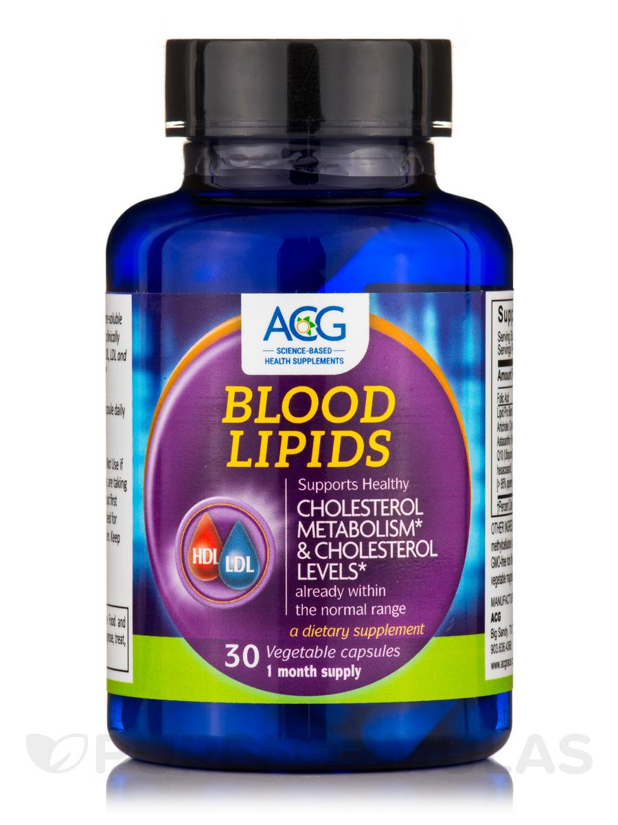 Blood Lipids - 30 Vegetable Capsules