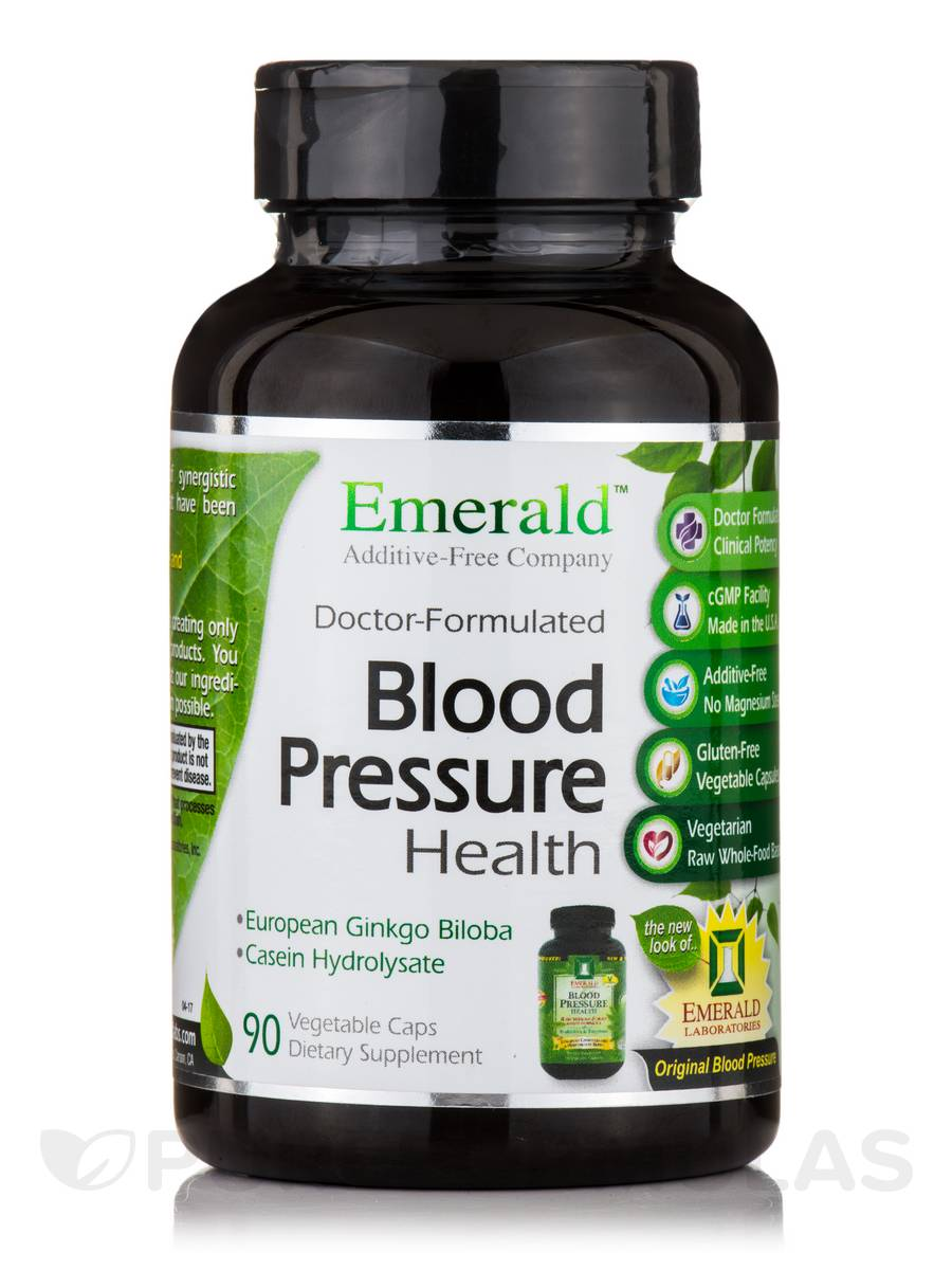 Blood Pressure Health - 90 Vegetable Capsules