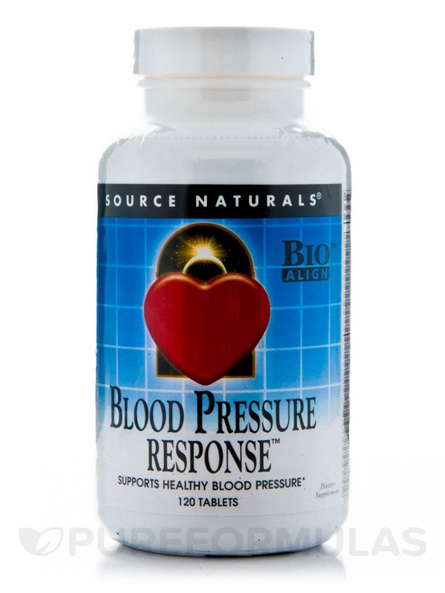 Blood Pressure Response - 120 Tablets