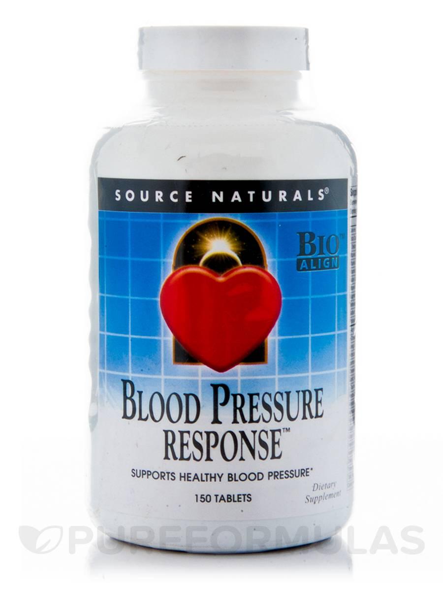 Blood Pressure Response - 150 Tablets