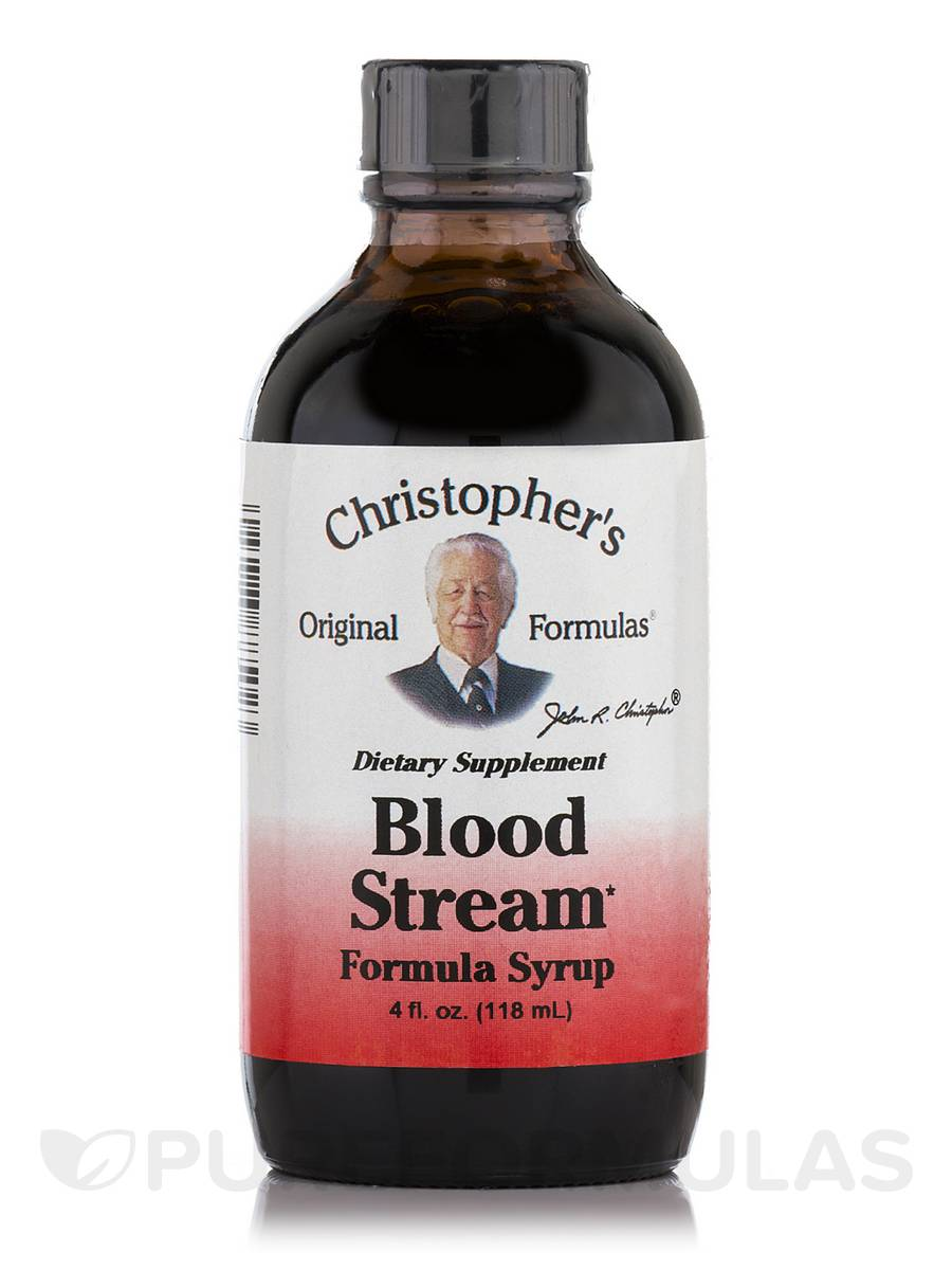 Blood Stream Formula Syrup - 4 fl. oz (118 ml)