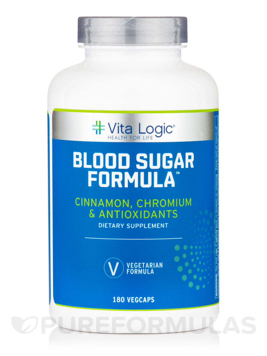 Blood Sugar Formula™ - 180 Vegetarian Capsules