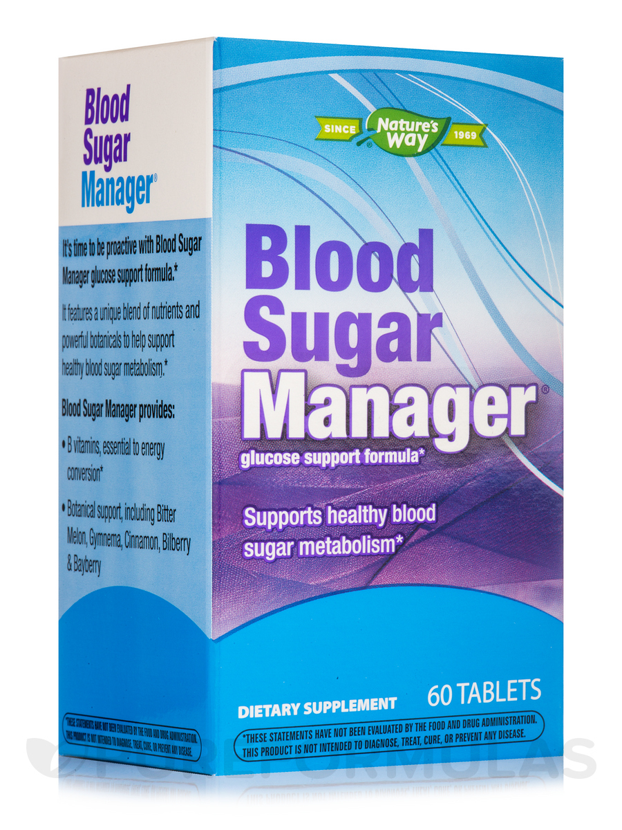 Blood Sugar Manager - 60 Tablets