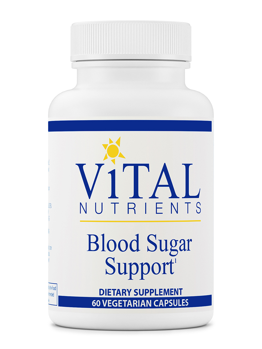 Blood Sugar Support - 60 Vegetarian Capsules