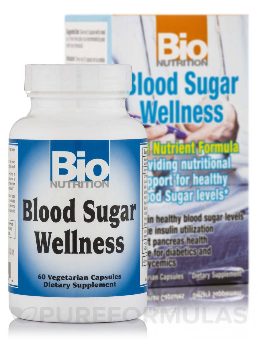Blood Sugar Wellness - 60 Vegetarian Capsules