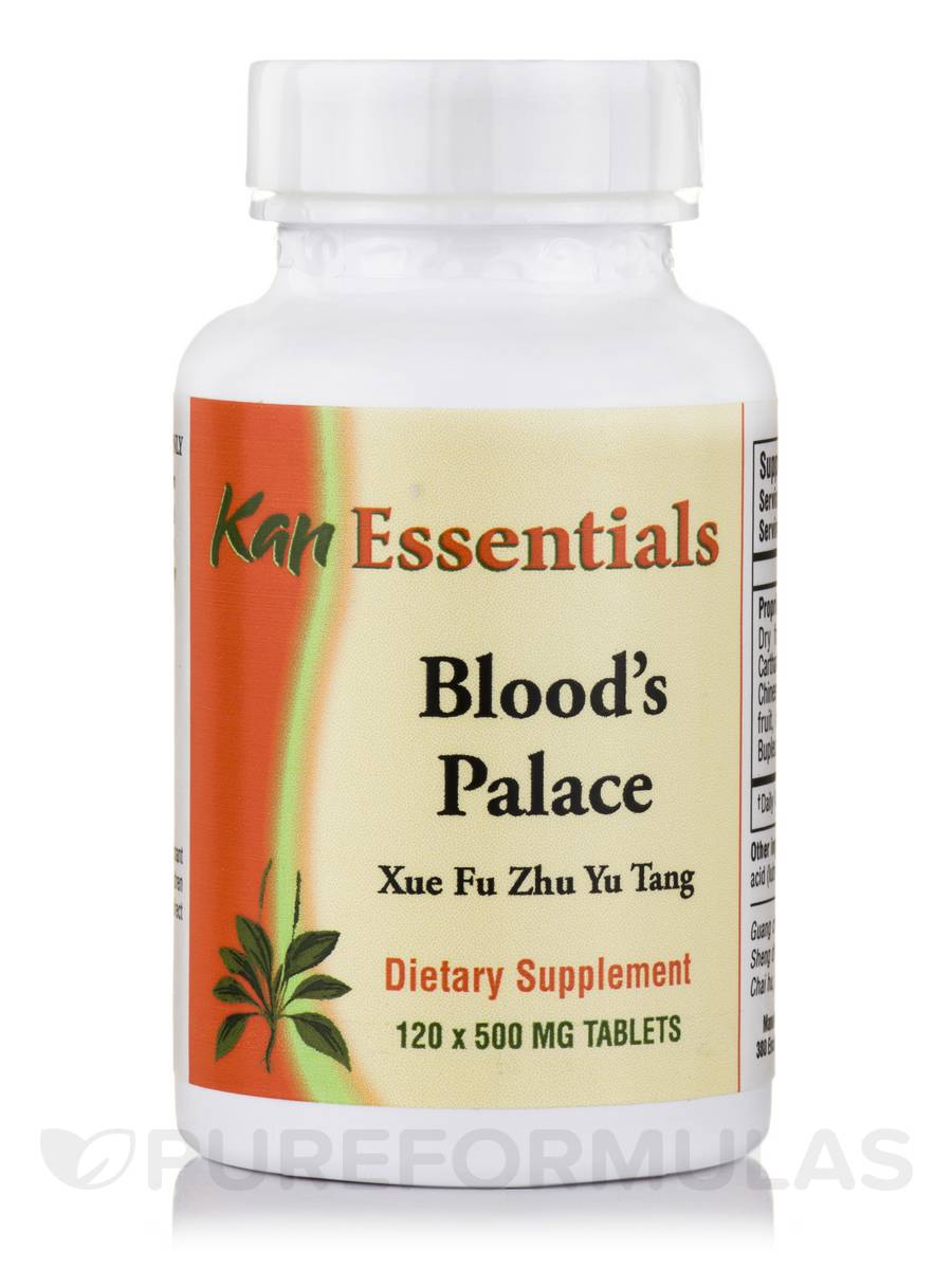 Blood's Palace 500 mg - 120 Tablets