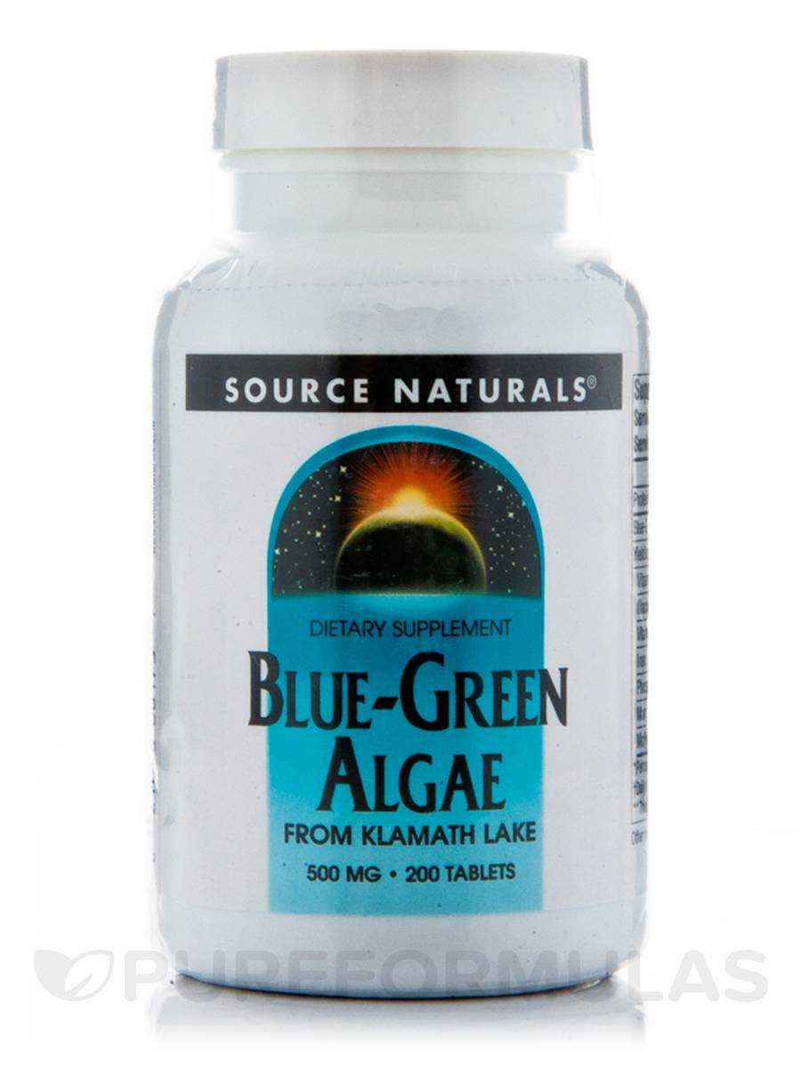 Blue Green Algae 500 mg - 200 Tablets