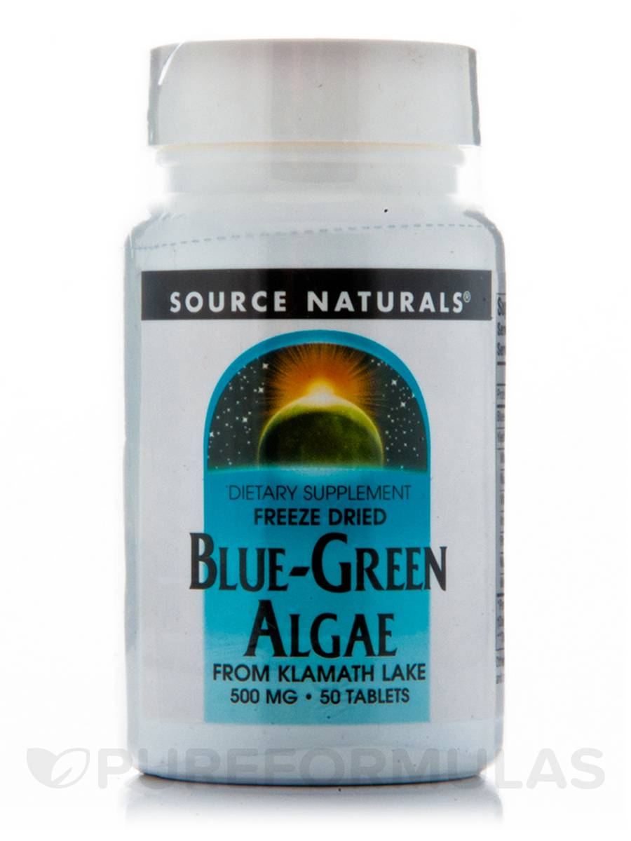 Blue Green Algae 500 mg - 50 tablets