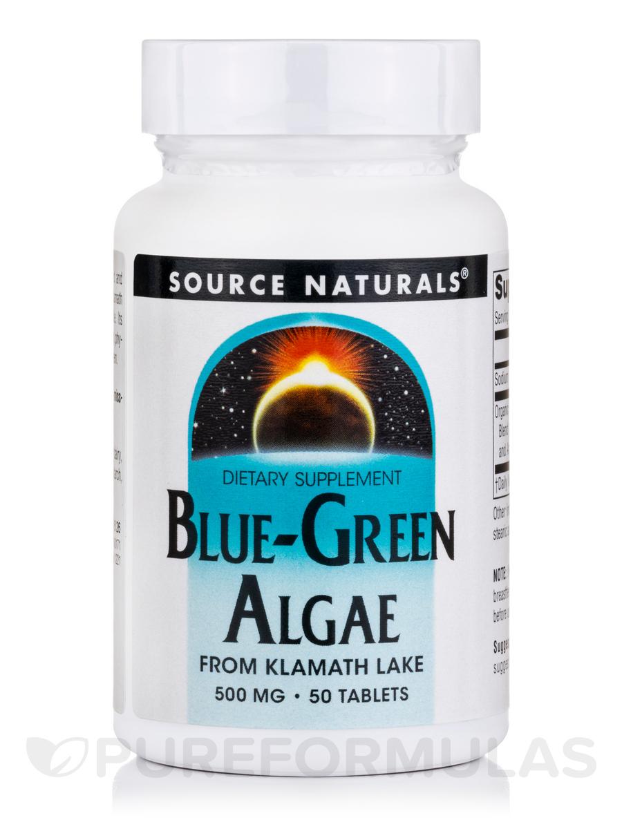 Blue Green Algae 500 mg - 50 tablets