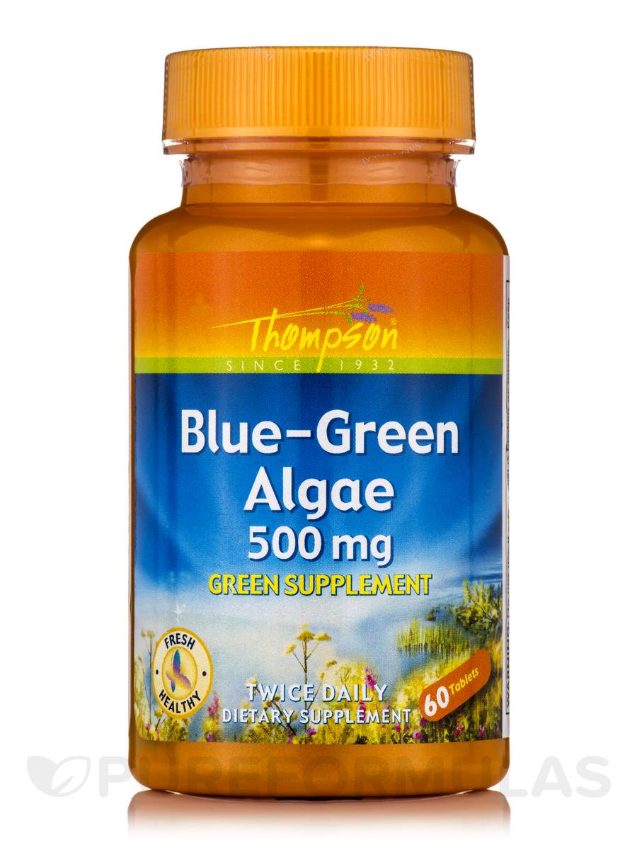 Blue-Green Algae 500 mg - 60 Tablets
