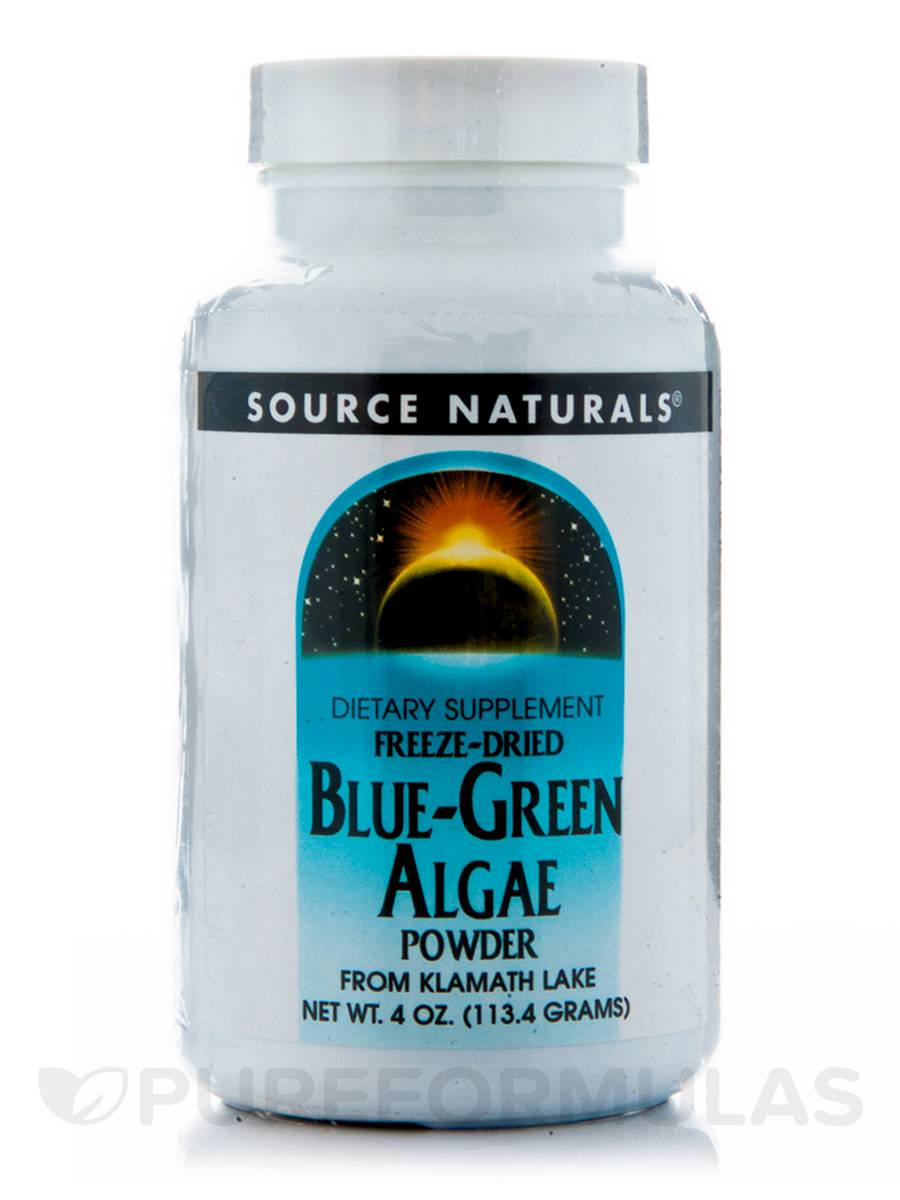 Blue Green Algae Powder - 4 oz (113.4 Grams)