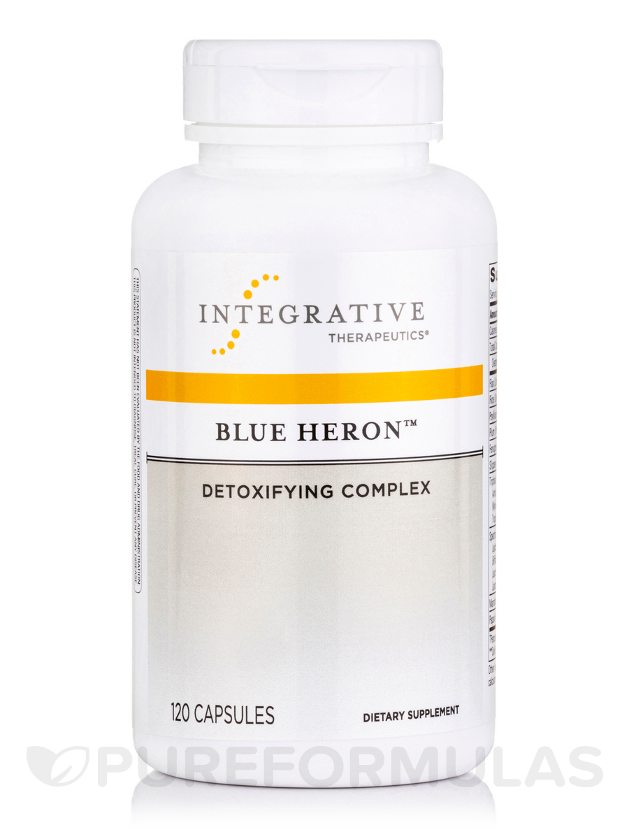 Blue Heron™ Detoxifying Complex - 120 Capsules