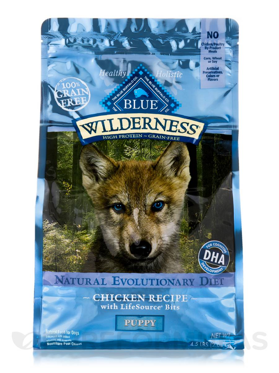 BLUE Wilderness - Chicken Recipe for Puppy Dogs - 4.5 lbs (2.04 kg)