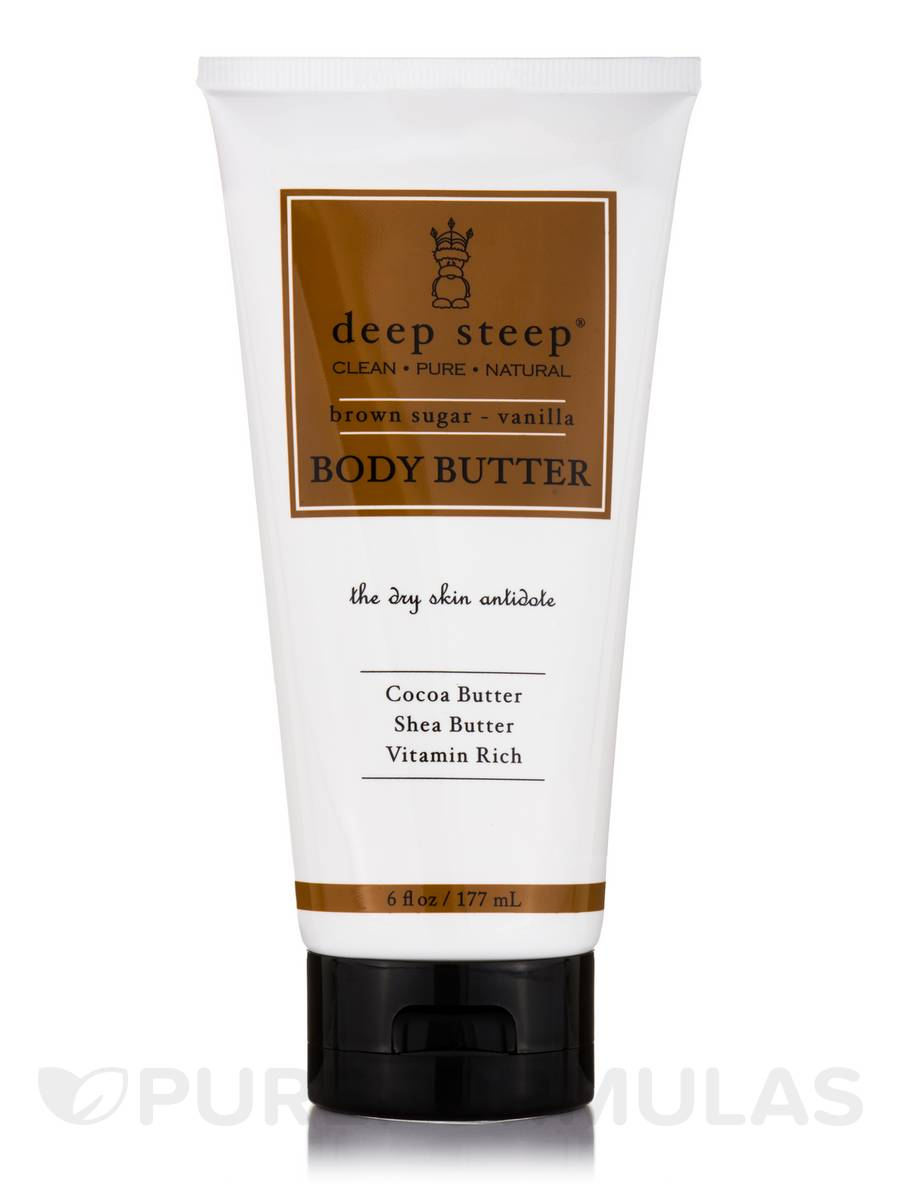Body Butter, Brown Sugar Vanilla - 6 fl. oz (177 ml)