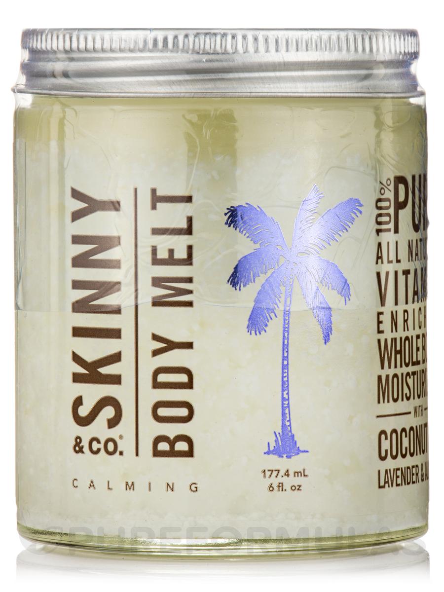 Body Melt - Coconut Oil with Lavender & Almond - 6 fl. oz (177.4 ml)