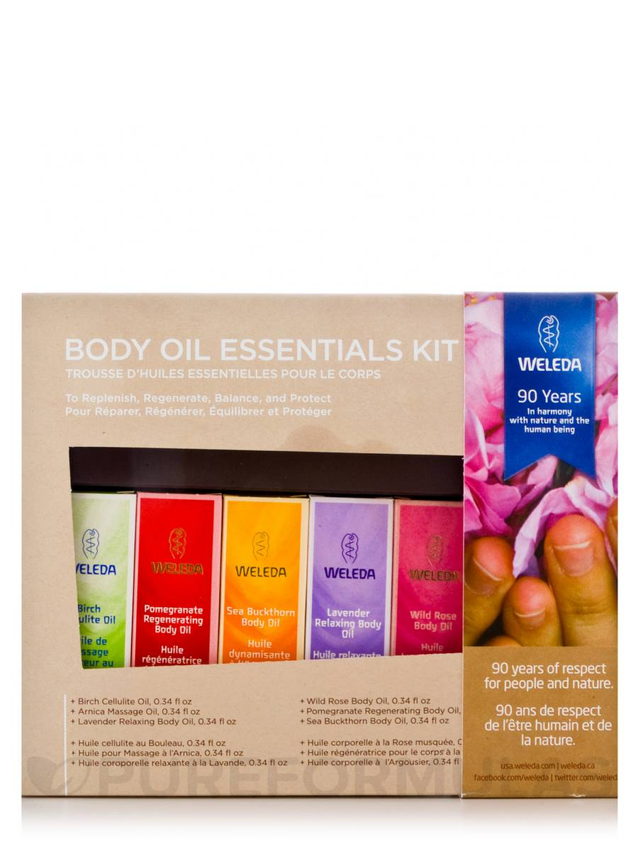 Body Oil Essentials - 1 Kit