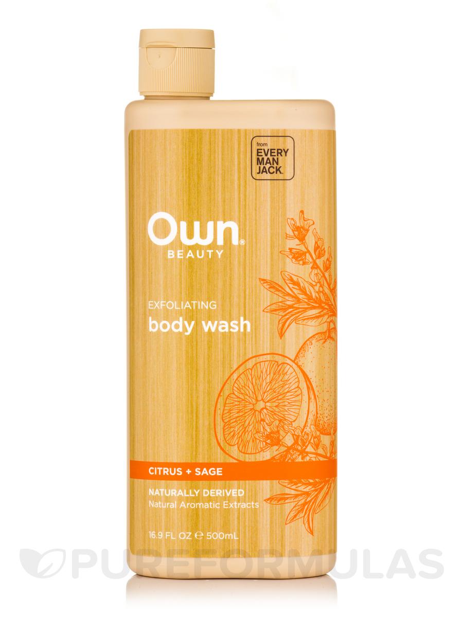 Body Wash, Citrus + Sage - 16.9 fl. oz (500 ml)
