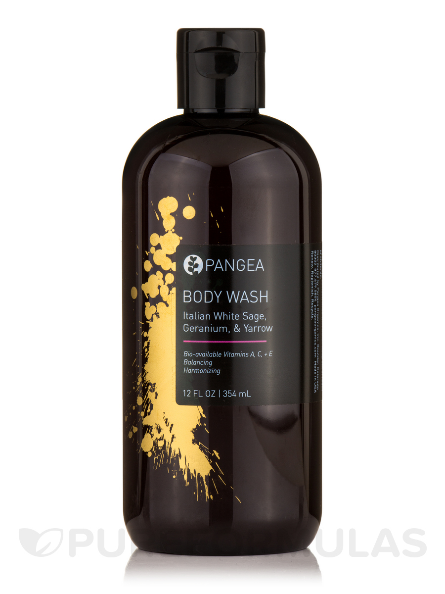 Body Wash - Italian White Sage, Geranium & Yarrow - 12 fl. oz (354 ml)