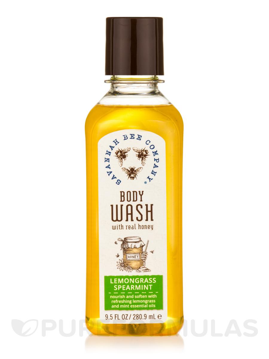 Body Wash with Real Honey - Lemongrass Spearmint - 9.5 fl. oz (280.9 ml)