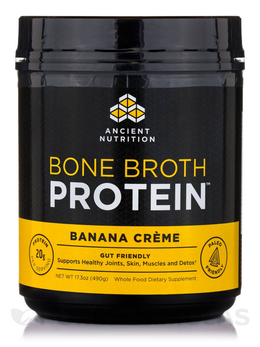 Bone Broth Protein™ Banana Crème - 17.3 oz (490 Grams)