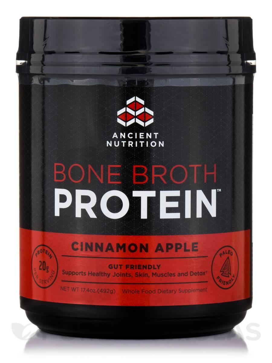 Bone Broth Protein™ Cinnamon Apple - 17.4 oz (492 Grams)