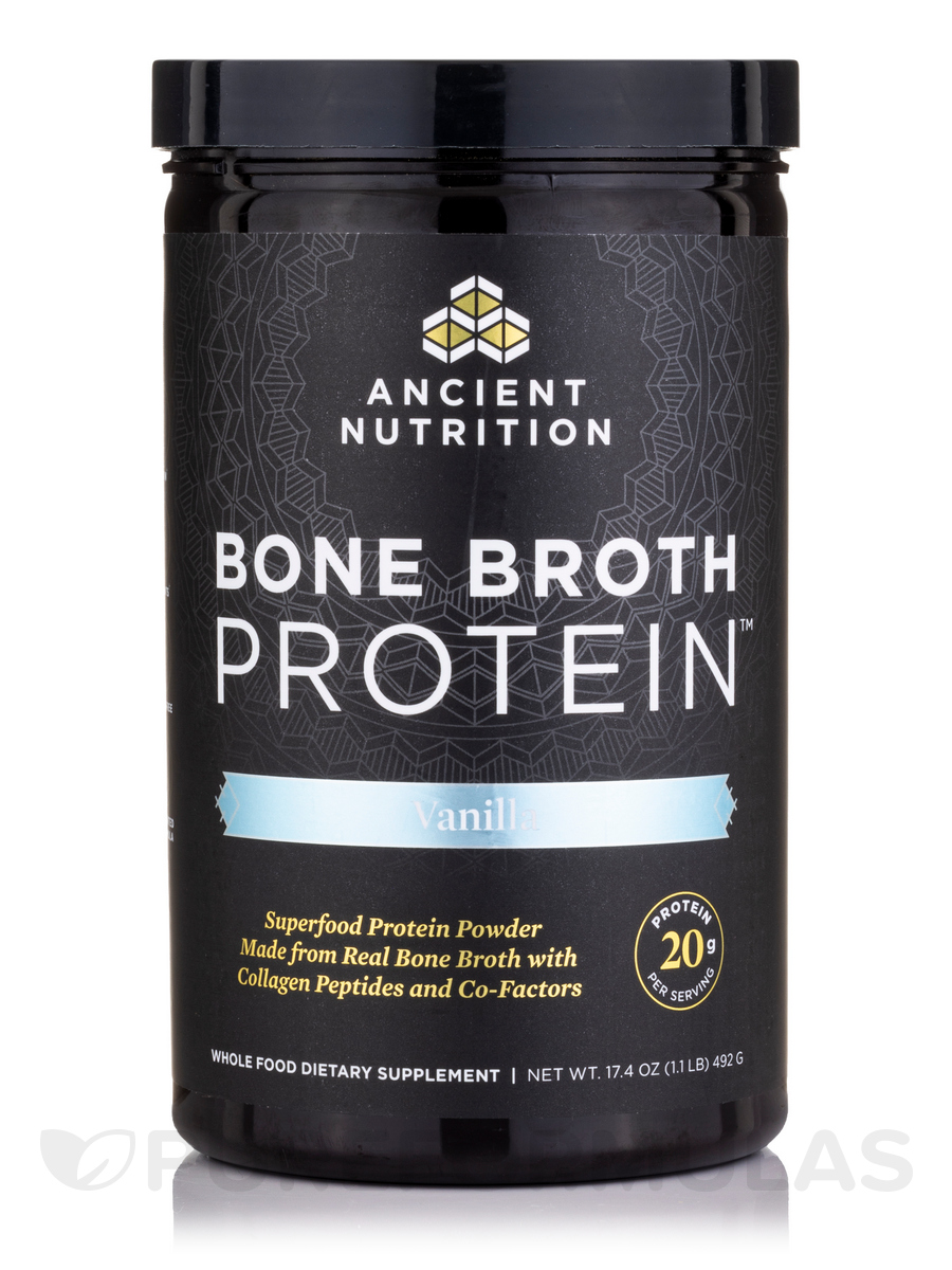 Bone Broth Protein™ Vanilla - 16.2 oz (460 Grams)