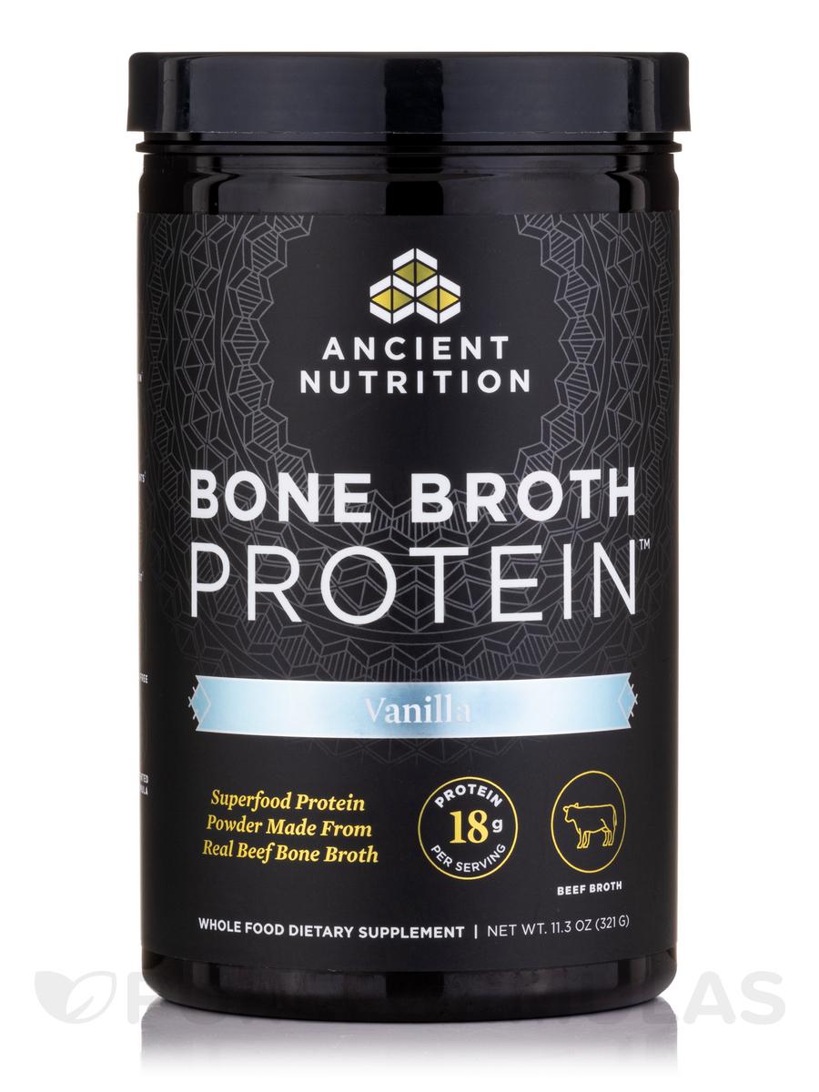Bone Broth Protein, Vanilla - 11.3 oz (320 Grams)
