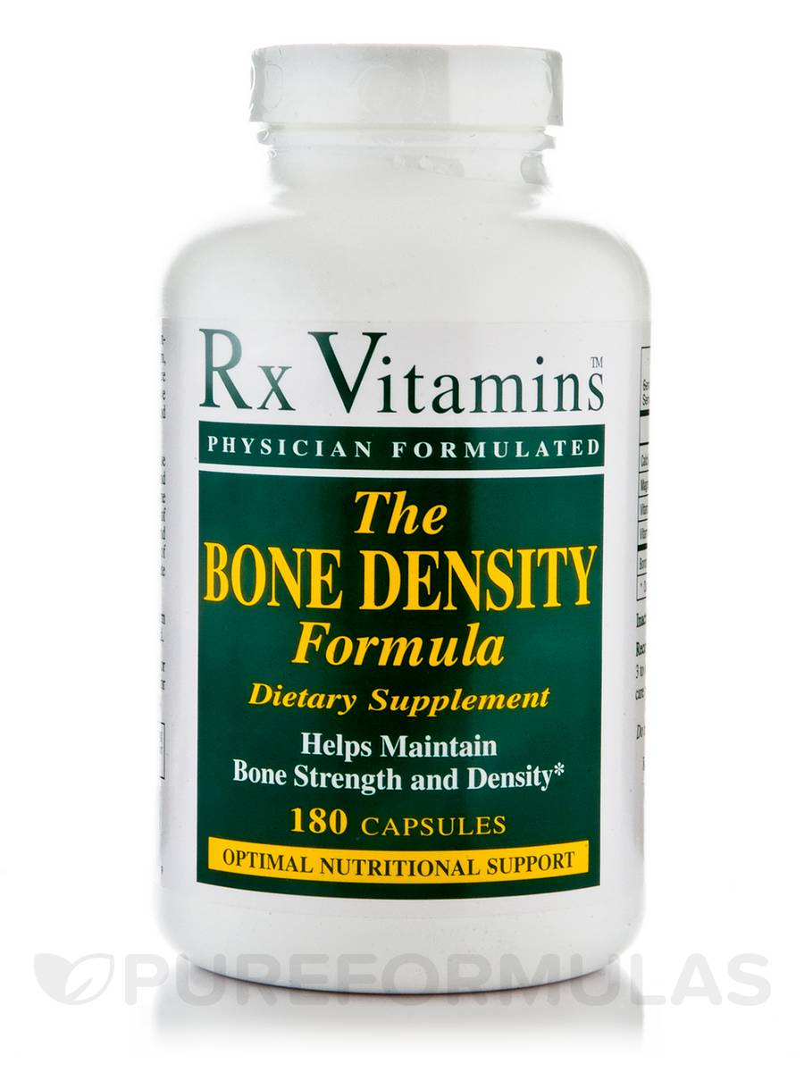 Bone Density Formula - 180 Capsules