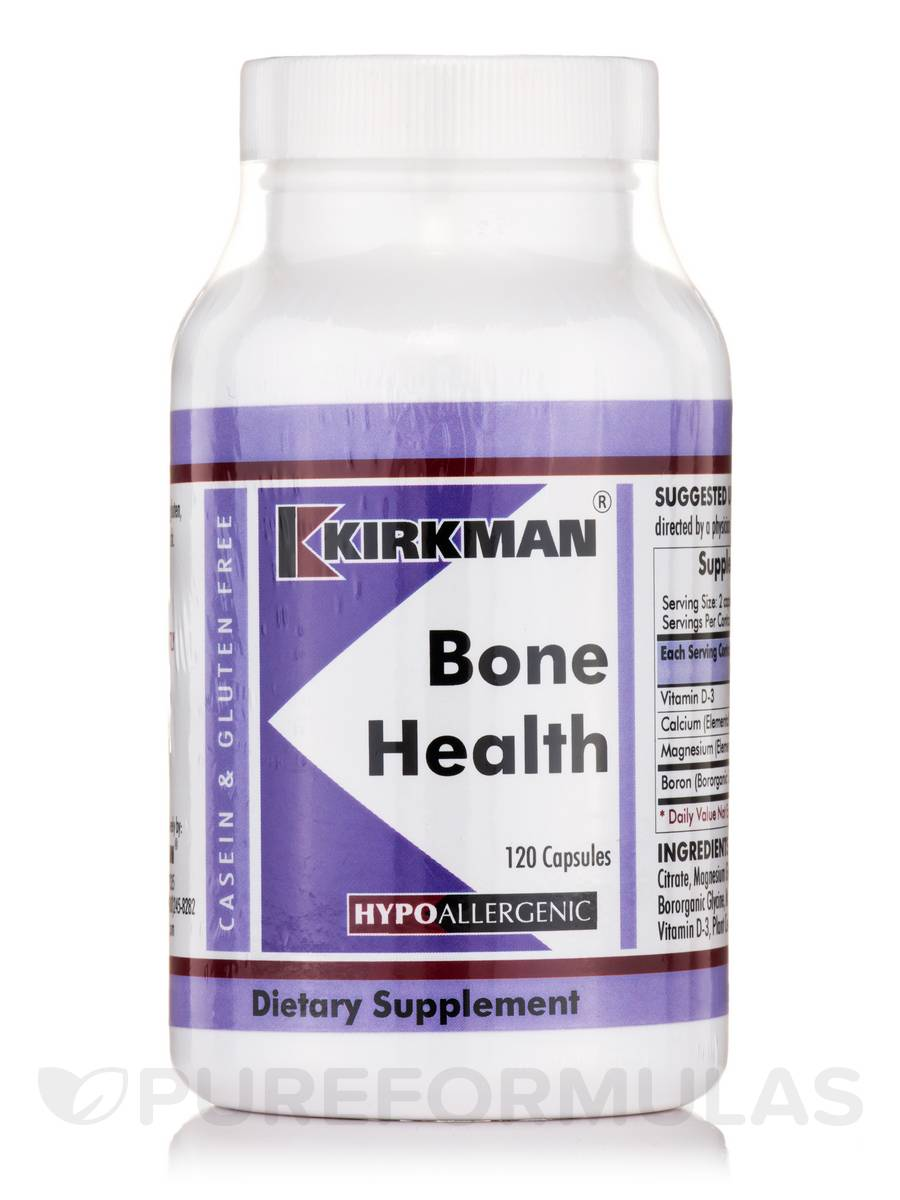 Bone Health -Hypoallergenic - 120 Capsules