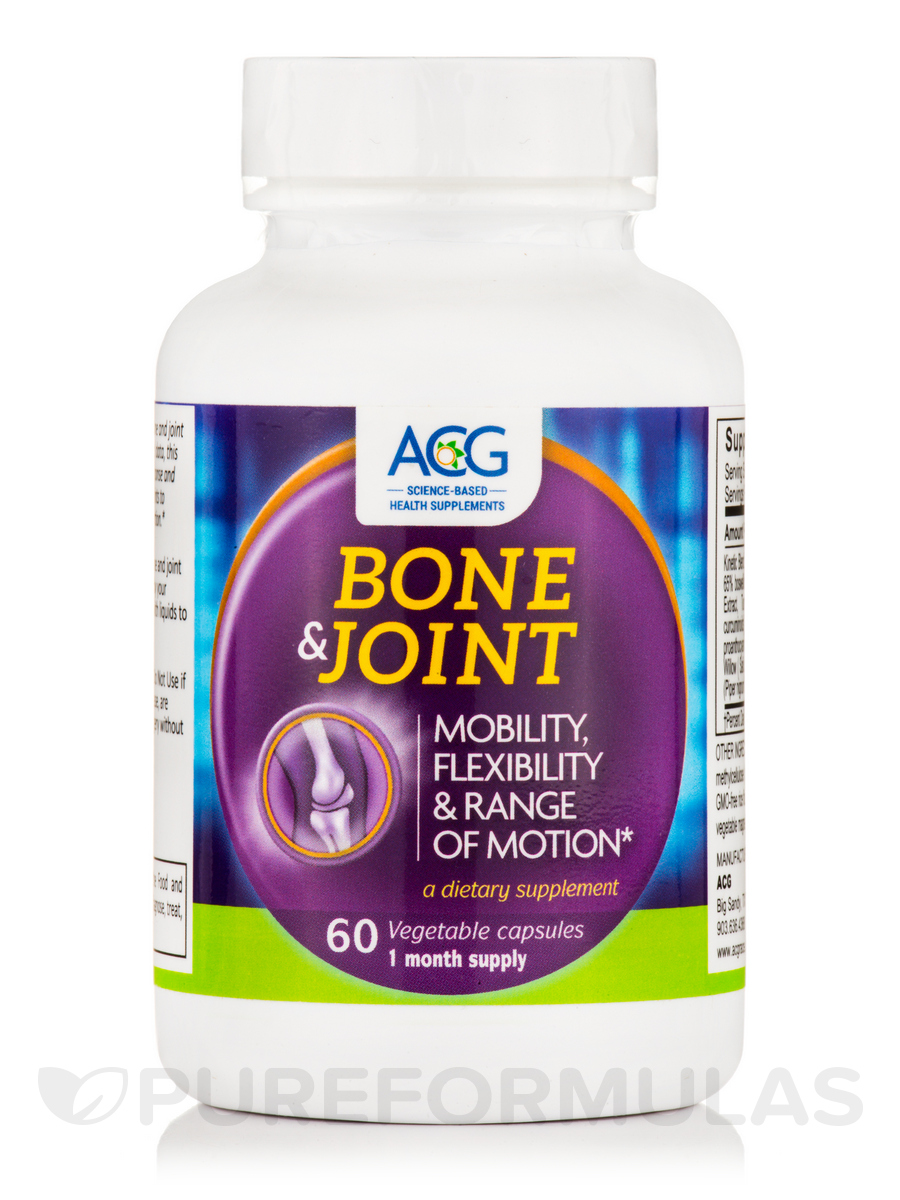 Bone & Joint - 60 Vegetable Capsules