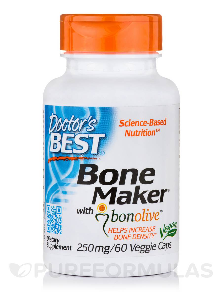 Bone Maker with Bonolive™ 250 mg - 60 Veggie Capsules