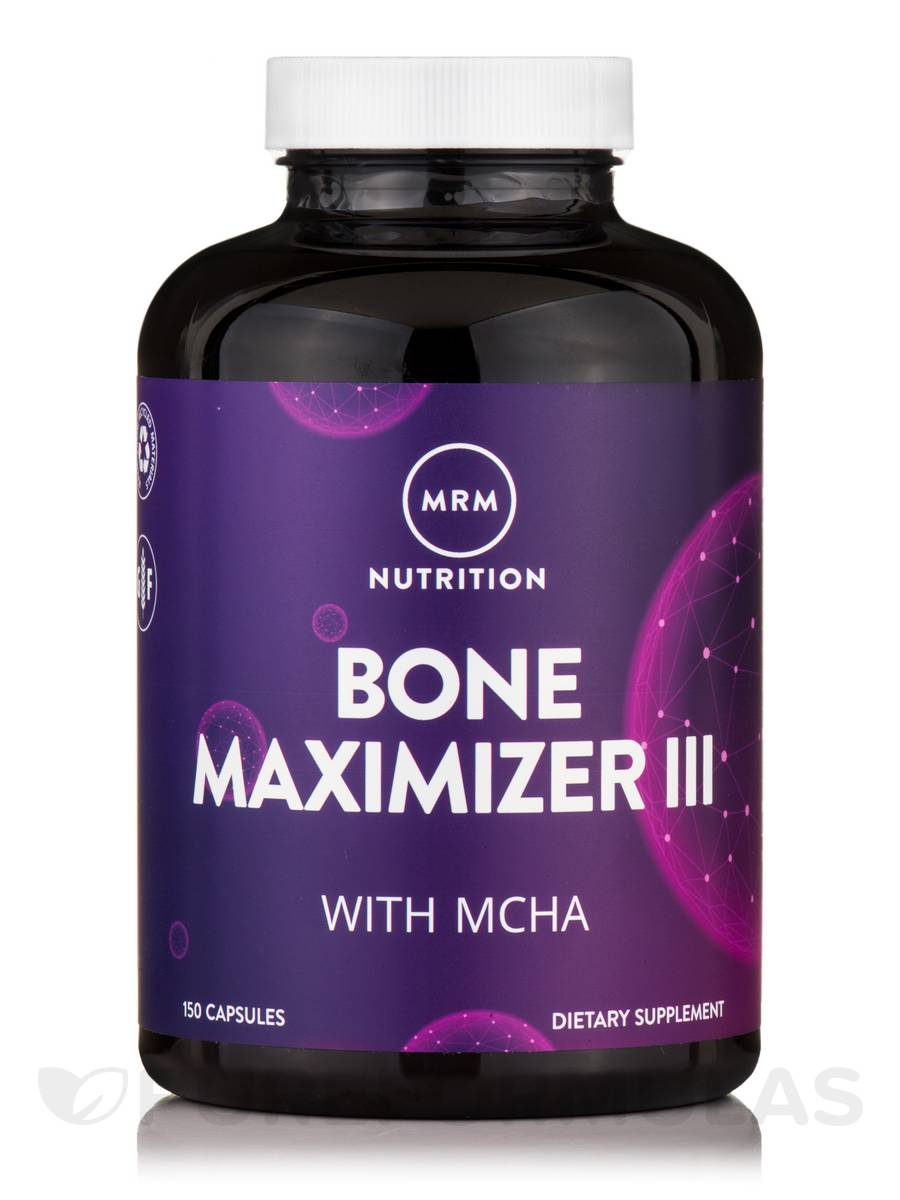 Bone Maximizer III MCHC with Vitamin K2, MK-7 - 150 Capsules