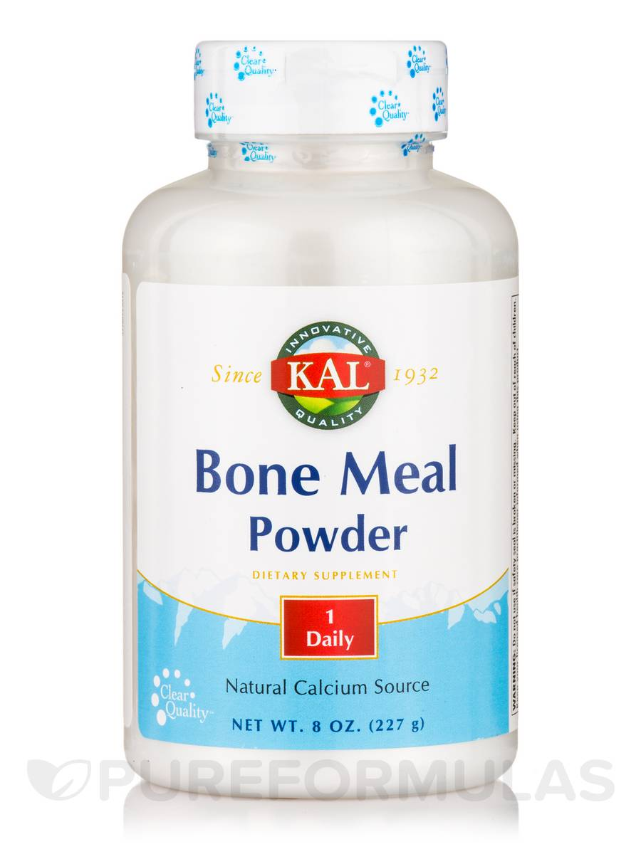 Bone Meal Powder, Unflavored - 8 oz (227 Grams)