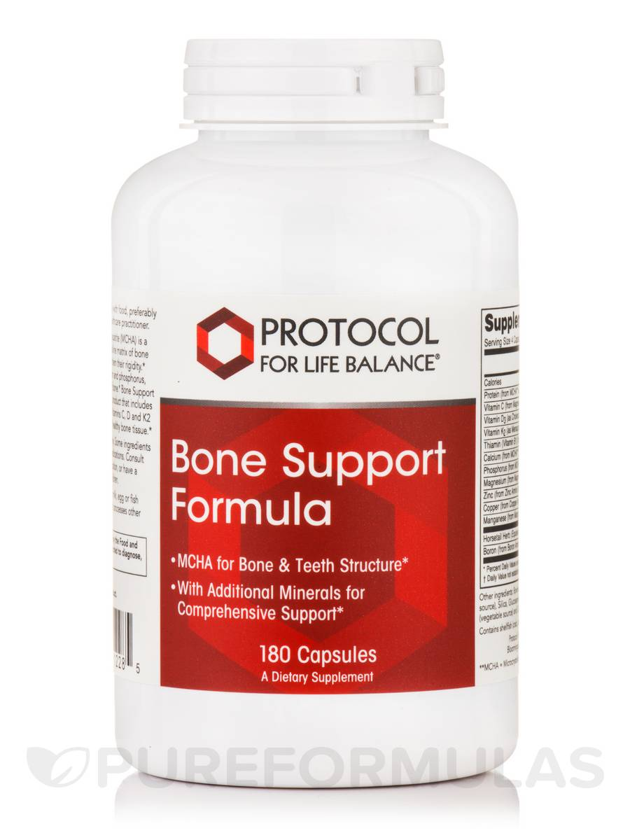 Bone Support Formula - 180 Capsules