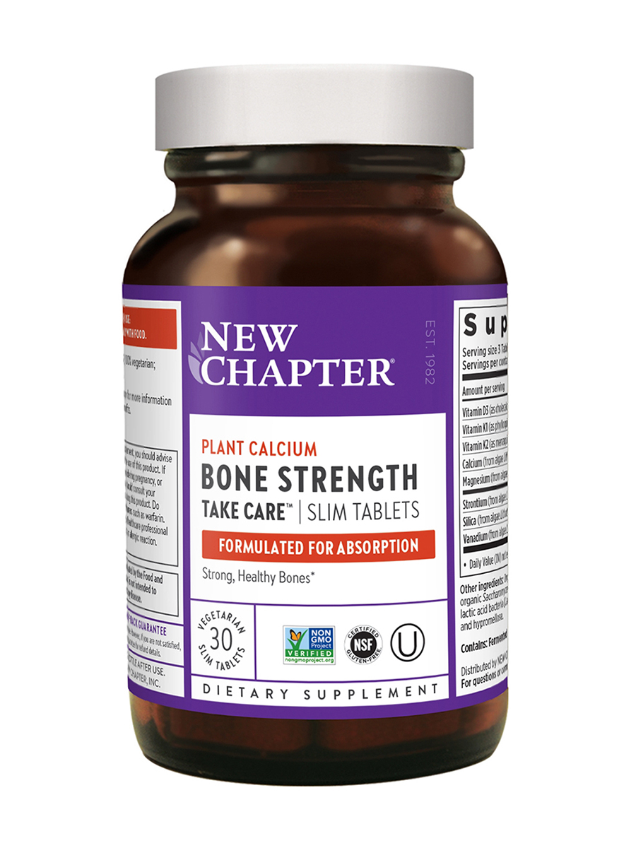 Bone Strength Take Care® Slim Tabs - 30 Tablets