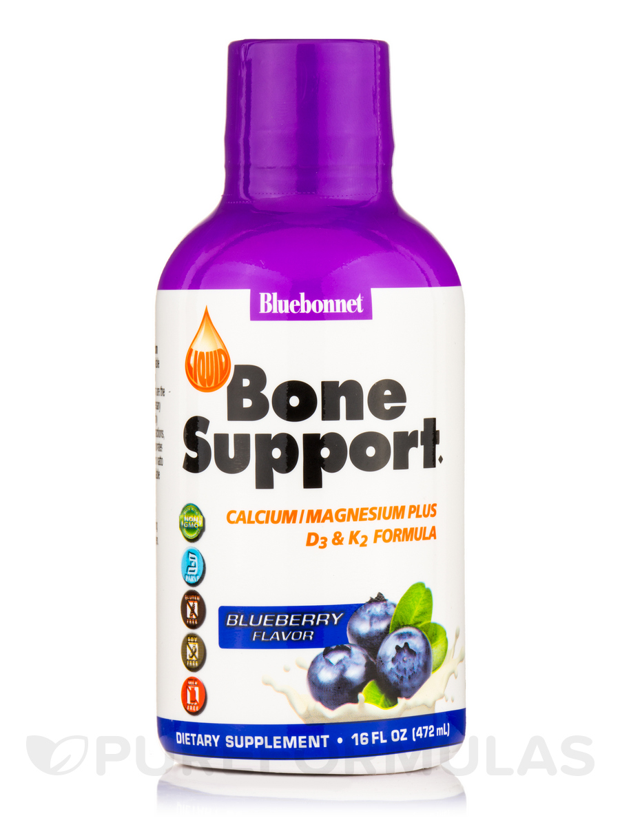 Bone Support, Blueberry Flavor - 16 fl. oz (472 ml)