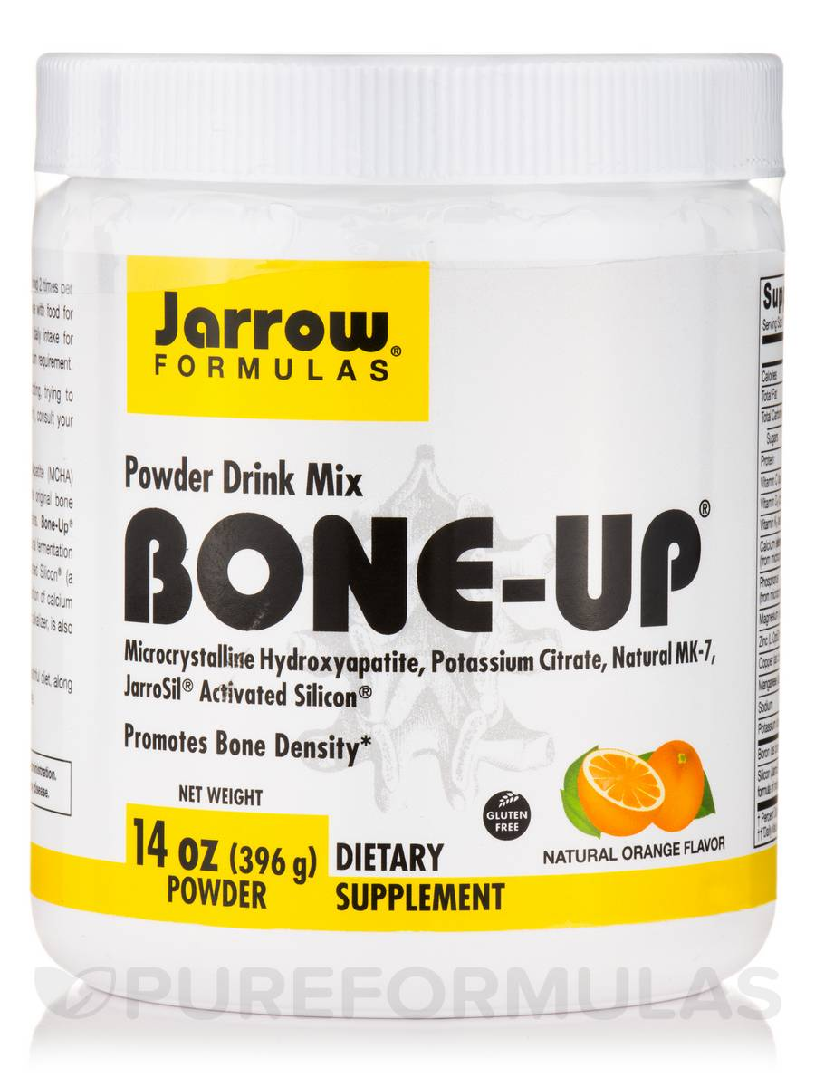 Bone-Up® Powder Drink Mix, Natural Orange Flavor - 14 oz (396 Grams)
