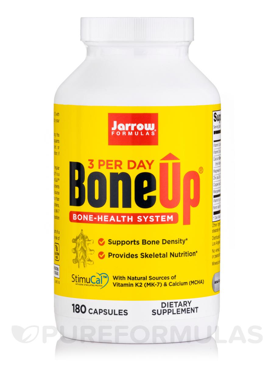 BoneUp® Three Per Day - 180 Capsules