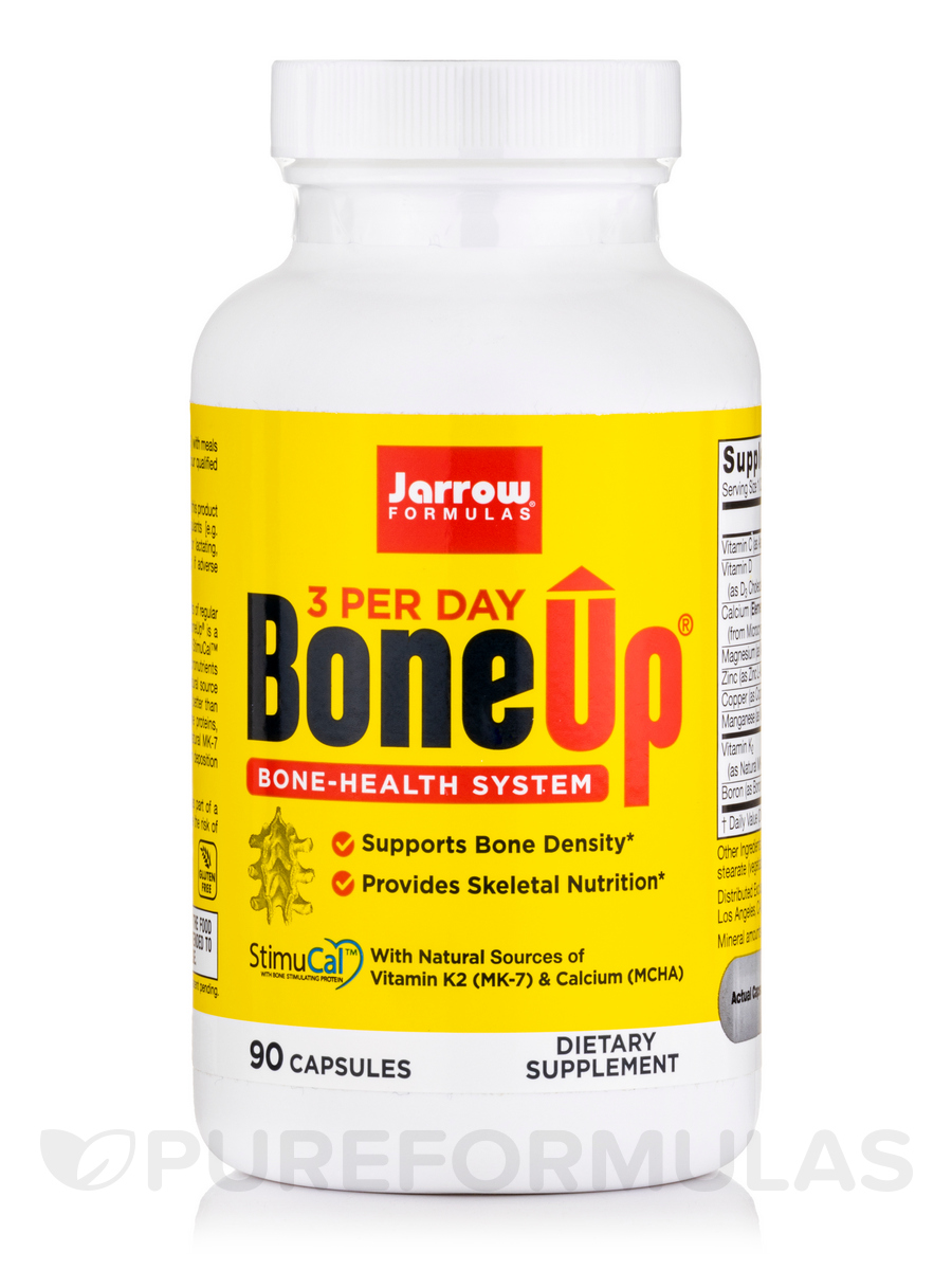 Bone-Up Three Per Day - 90 Capsules