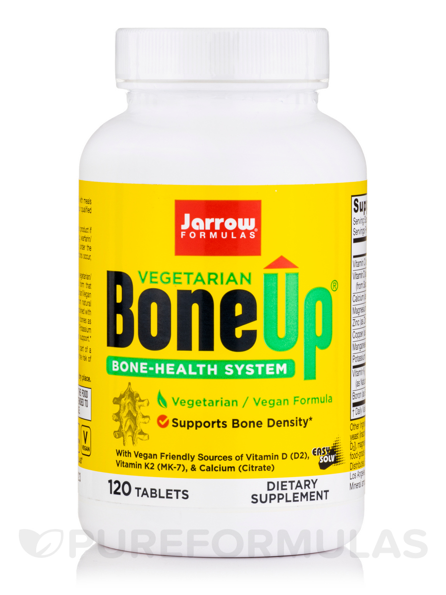 Bone-Up (Vegetarian/Vegan) - 120 Tablets