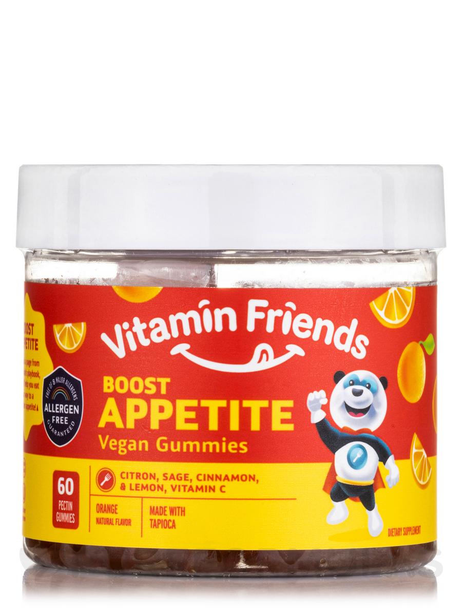 Boost Appetite Gummies for Kids, Orange Flavor - 36 Gummies