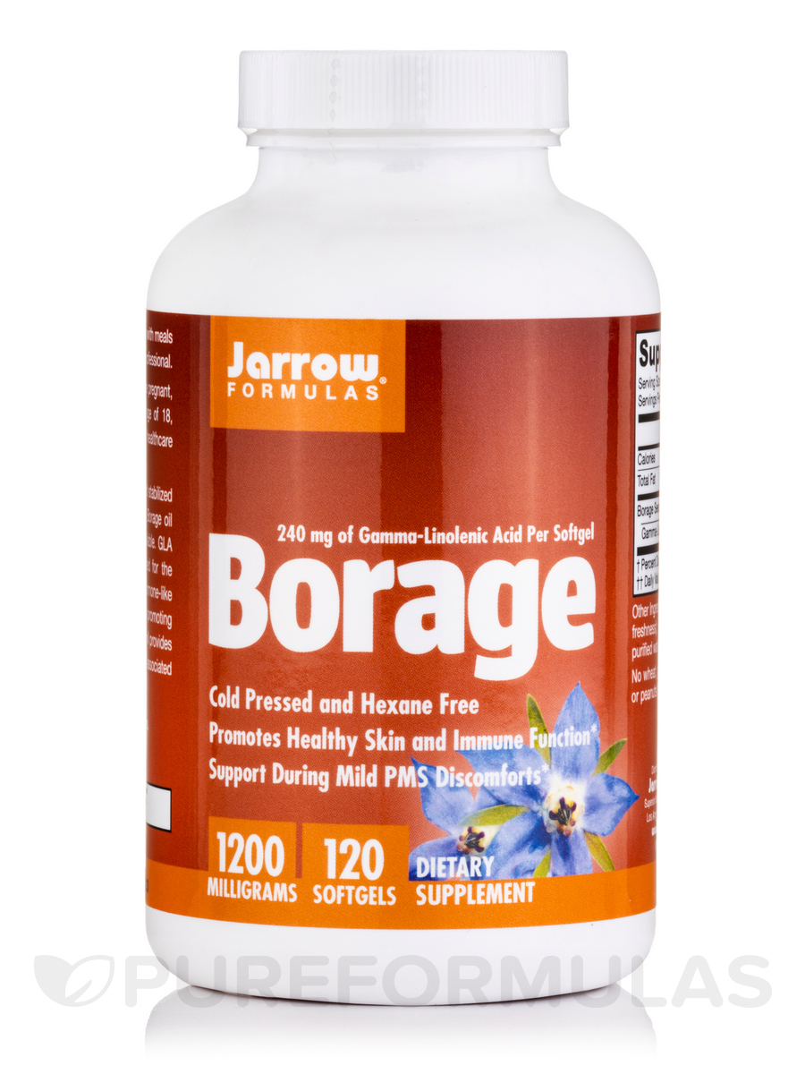 Borage GLA-240 - 120 Softgels